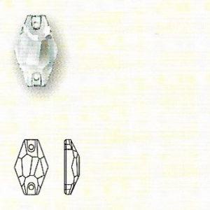 Hexagon-Sew-on-Stone